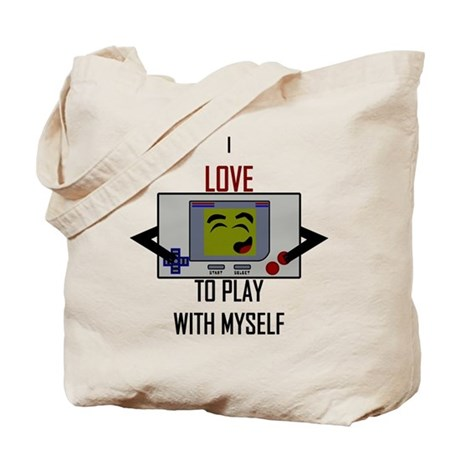 i love to play with myself - tote