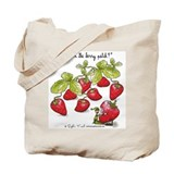 Strawberry Jam Tote Bag by Sophie Turrel