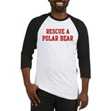 Rescue Polar Bear Baseball Jersey