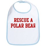 Rescue Polar Bear Bib