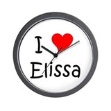 Cool Elissa Wall Clock