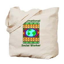 International Social Worker Tote Bag