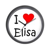 Cool Elisa Wall Clock