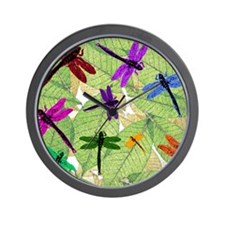 Dragonflies Wall Clock