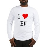Unique I love eli Long Sleeve T-Shirt