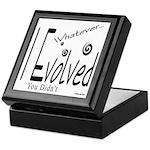 I Evolved Keepsake Box