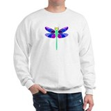 Dragonfly in Purple  Sweatshirt