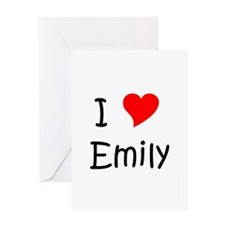 Cute Emilie Greeting Card