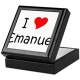 Cool Emanuel Keepsake Box