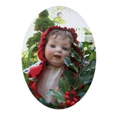 Holly Baby Ornament