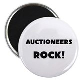 "Auctioneers ROCK 2.25"" Magnet (10 pack)"