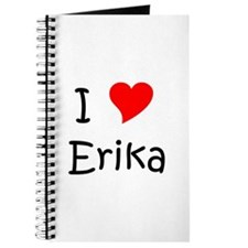 Cute Erika Journal