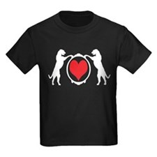 Tall Wolfhounds & Heart T