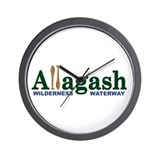 Allagash Wilderness Waterway Wall Clock