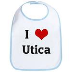 I Love Utica Bib