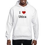I Love Utica Hooded Sweatshirt