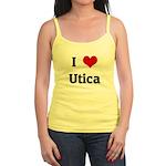 I Love Utica Jr. Spaghetti Tank