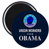 "Union Workers Obama 2.25"" Magnet (100 pack)"
