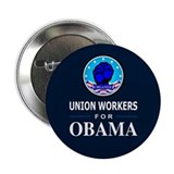 "Union Workers Obama 2.25"" Button (100 pack)"
