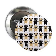 "StringOPugs 2.25"" Button (100 pack)"