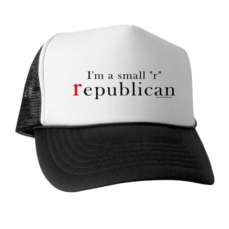 Small r republican Trucker Hat