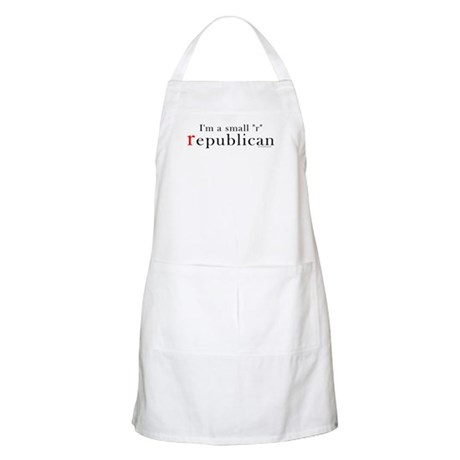 Small r republican BBQ Apron