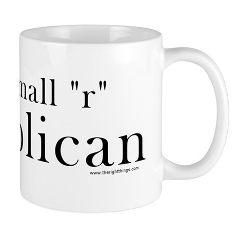 Small r republican Mug