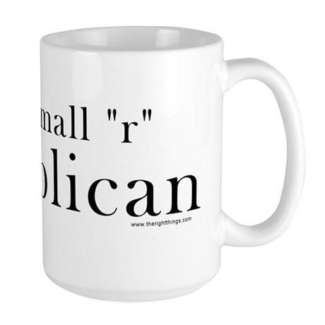 Small r republican Large Mug