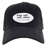 Plays Well (Drums) Baseball Cap