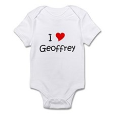 Name geoffrey Infant Bodysuit