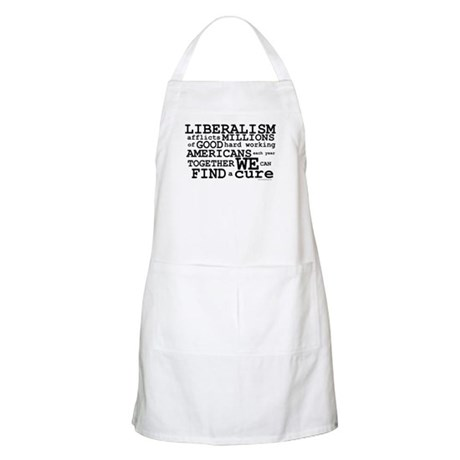 Cure Liberalism BBQ Apron
