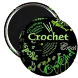 Crochet Green Magnet