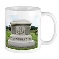 17th Connecticut at Gettysburg Mug