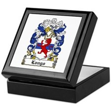 Longo Family Crest Keepsake Box