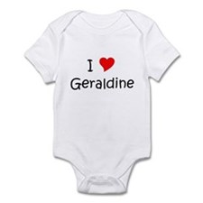 Name geraldine Infant Bodysuit