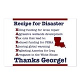 Recipie for Disaster Postcards (Package of 8)