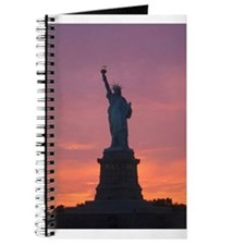 Lady Liberty at Sunset Journal