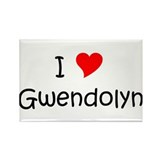 Funny Gwendolyn Rectangle Magnet (10 pack)