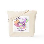 Mengzi China Map Tote Bag