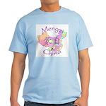 Mengzi China Map Light T-Shirt