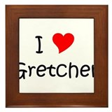 Cool Gretchen Framed Tile
