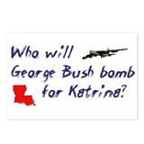 Who will Bush bomb? Postcards (Package of 8)