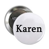 Karen - Personalized Button