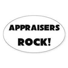Appraisers ROCK Oval Decal