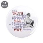 """Truth 3.5"""" Button (10 pack)"""