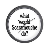 Scaramouche Wall Clock