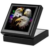 Eagle Colors Keepsake Box