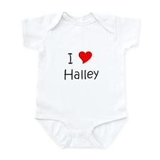 Cute I love name Infant Bodysuit