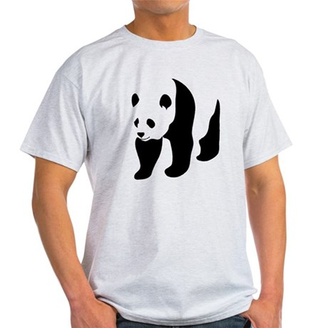 Giant Panda Bear Bamboo Light T-Shirt