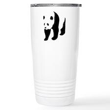 Panda Bear Ceramic Travel Mug